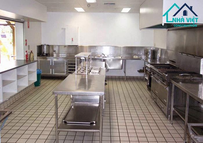 chong tham bep nha hang 3 - 5 Lưu ý về sàn của hệ thống bếp nhà hàng