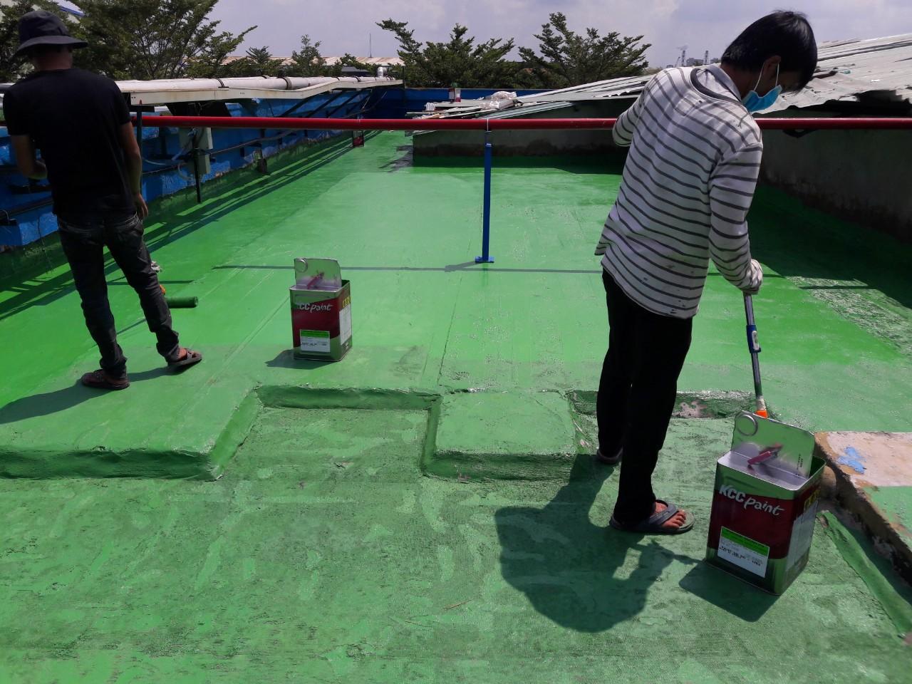 chong tham nha xuong 2 - Phương pháp chống thấm sàn bê tông triệt để