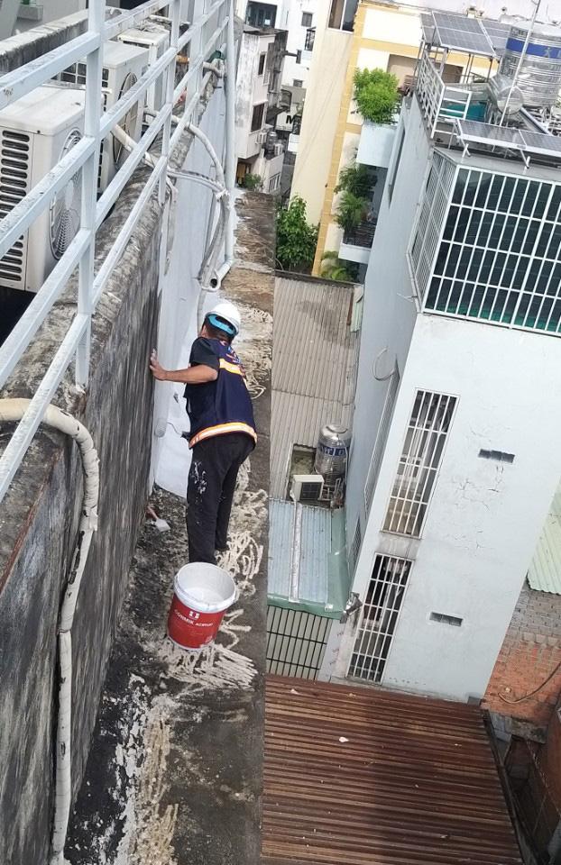 chong tham tuong ngoai 1 - 5 bước chống thấm tường ngoài đơn giản hiệu quả