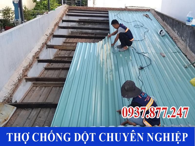 chong dot mai ton tp ho chi minh 5 - Thợ Chống dột mái tôn TP Hồ Chí Minh triệt để 100%