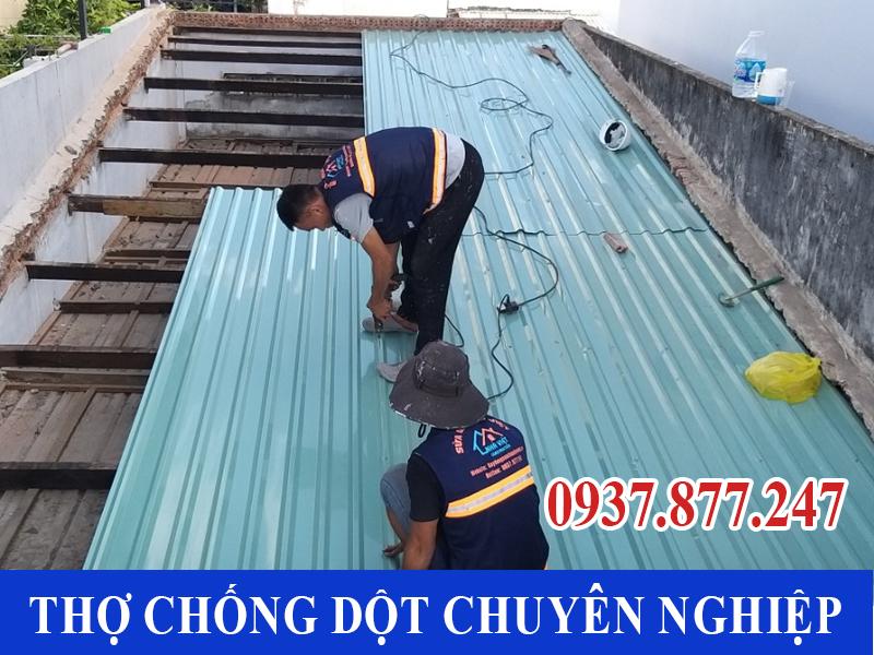 chong dot mai ton tp ho chi minh 6 - Thợ Chống dột mái tôn TP Hồ Chí Minh triệt để 100%