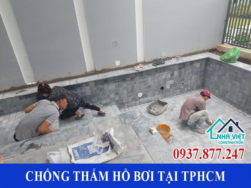 chong tham ho boi tai tphcm 1 1 - Dịch vụ Chống thấm hồ bơi tại TPHCM an toàn triệt để 100%