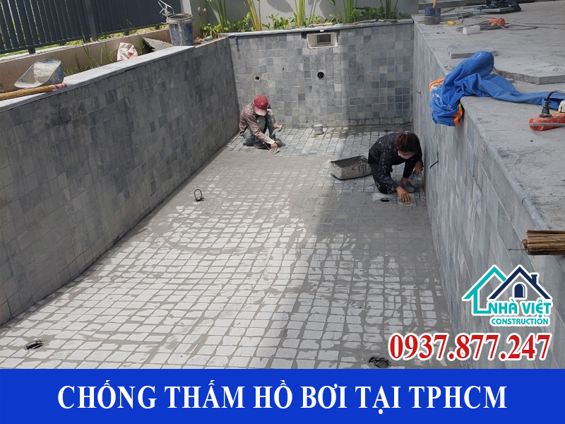 chong tham ho boi tai tphcm 1 2 - Dịch vụ Chống thấm hồ bơi tại TPHCM an toàn triệt để 100%
