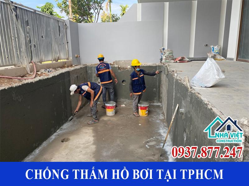 chong tham ho boi tai tphcm 1 3 - Dịch vụ Chống thấm hồ bơi tại TPHCM an toàn triệt để 100%