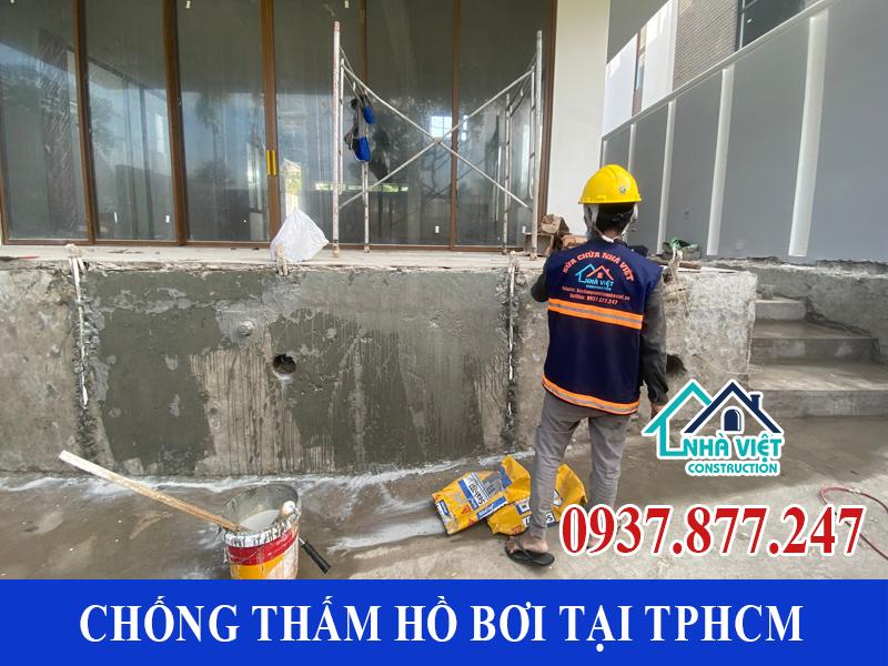 chong tham ho boi tai tphcm 10 - Dịch vụ Chống thấm hồ bơi tại TPHCM an toàn triệt để 100%