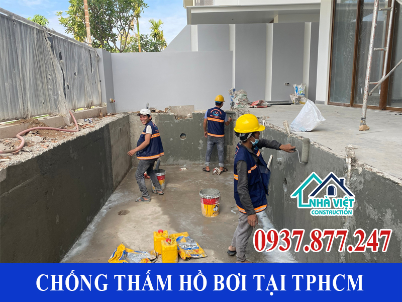 chong tham ho boi tai tphcm 11 - Dịch vụ Chống thấm hồ bơi tại TPHCM an toàn triệt để 100%