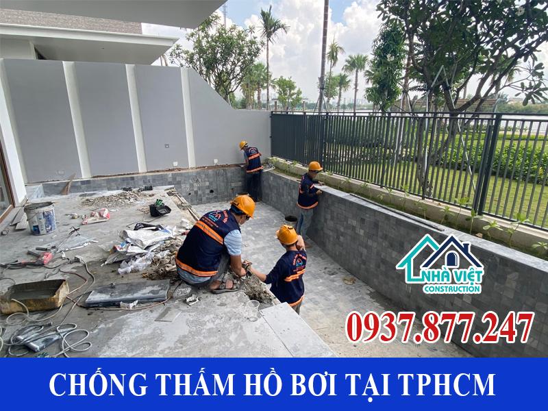 chong tham ho boi tai tphcm 12 - Dịch vụ Chống thấm hồ bơi tại TPHCM an toàn triệt để 100%
