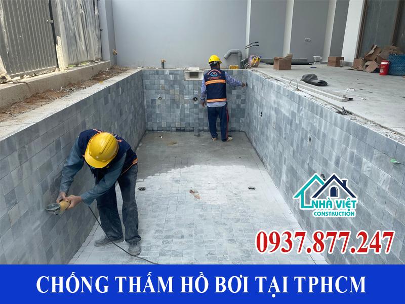 chong tham ho boi tai tphcm 5 - Dịch vụ Chống thấm hồ bơi tại TPHCM an toàn triệt để 100%