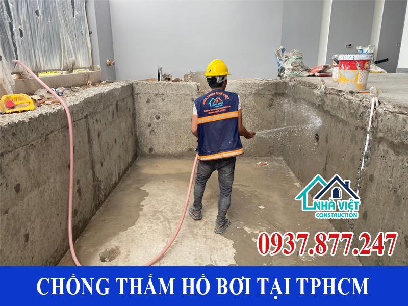 chong tham ho boi tai tphcm 9 1 - Dịch vụ Chống thấm hồ bơi tại TPHCM an toàn triệt để 100%