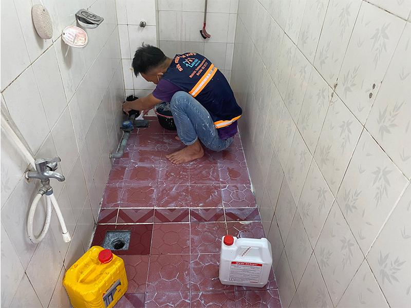 chong tham nha ve sinh bang hop chat sika 1 - 3 vật liệu chống thấm nhà vệ sinh tốt nhất, đảm bảo hết thấm