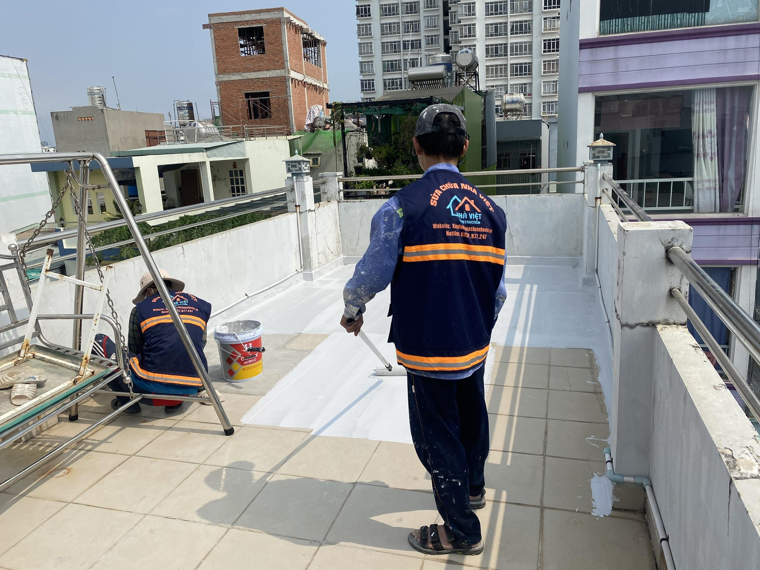chong tham san thuong tphcm 6 - Chống Thấm Sân Thượng TP Hồ Chí Minh Hiệu Quả Triệt Để