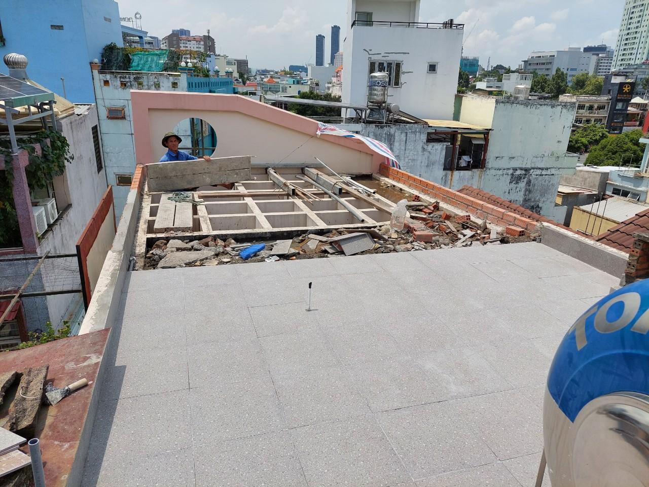 chong tham san thuong trong cay 3 - Chống thấm sân thượng để trồng cây giá rẻ - uy tín tại TPHCM