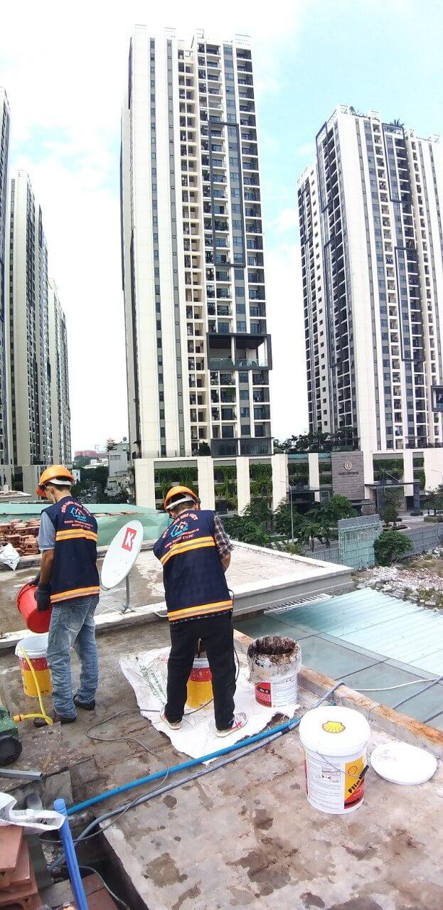 chong tham san thuong uy tin tphcm 9 1 - Báo Giá Chống Thấm Sân Thượng Rẻ nhất TPHCM