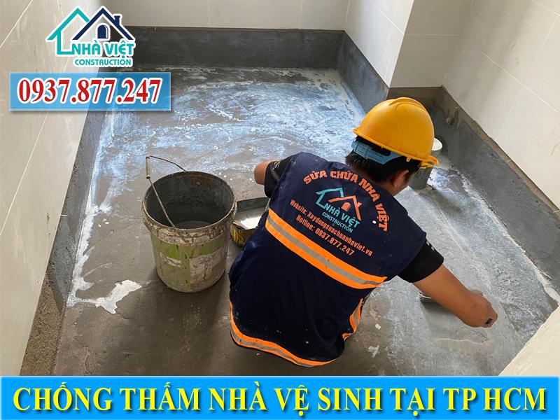 Chống thấm trần nhà vệ sinh uy tín giá rẻ tại TPHCM
