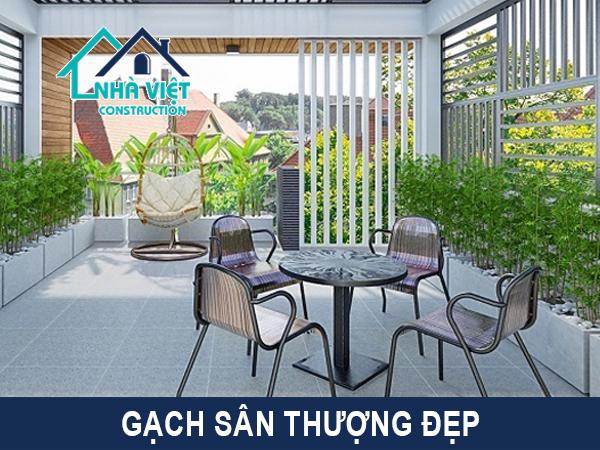 gach lat san thuong chong tham - Lát gạch chống thấm sân thượng bảo hành 10 năm tại TPHCM