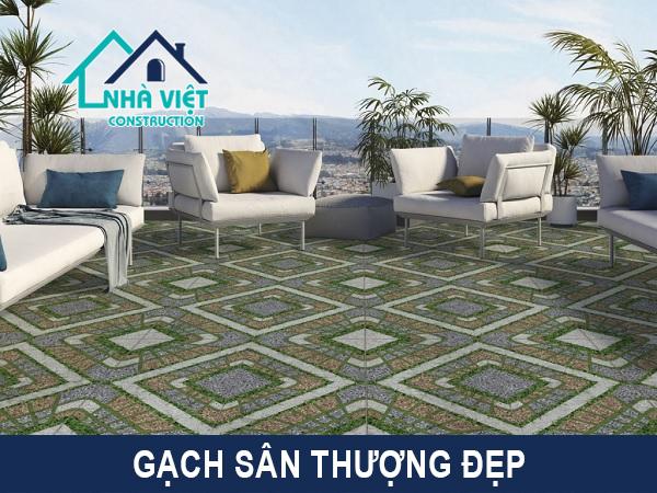 gach lat san thuong - Lát gạch chống thấm sân thượng bảo hành 10 năm tại TPHCM
