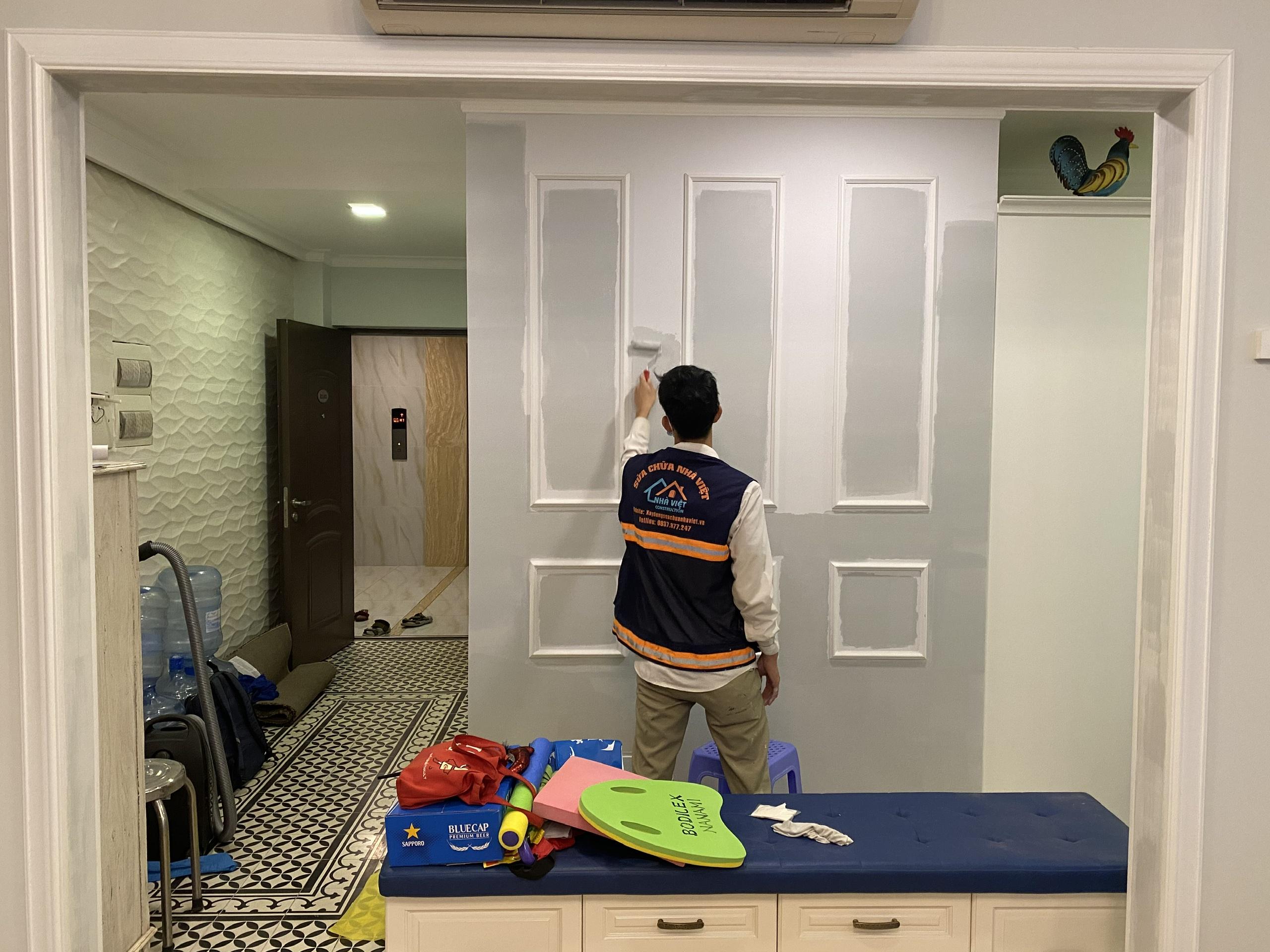 gia thi cong son nuoc 1 - Báo giá thi công sơn nước mới nhất, rẻ nhất tại Tp Hồ Chí Minh