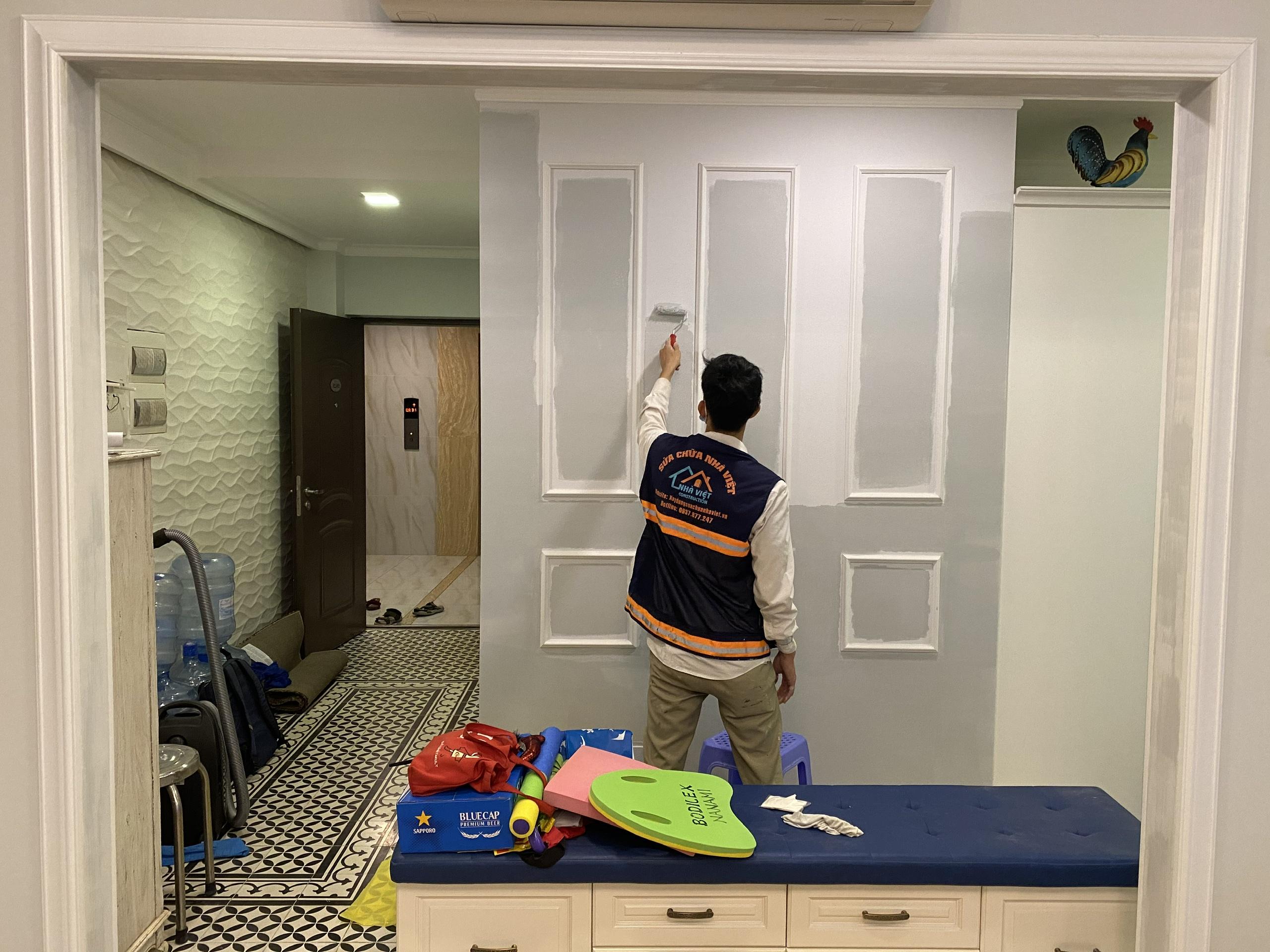 gia thi cong son nuoc 7 - Báo giá thi công sơn nước mới nhất, rẻ nhất tại Tp Hồ Chí Minh