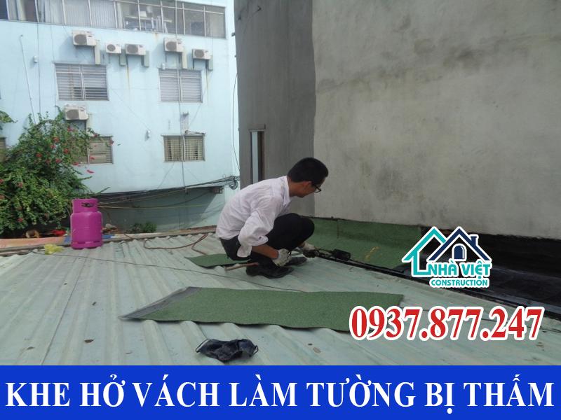 khe ho vach lam tuong nha bi tham - Chống Thấm Tường Nhà TP Hồ Chí Minh Triệt Để 100% - Tiết Kiệm Chi Phí