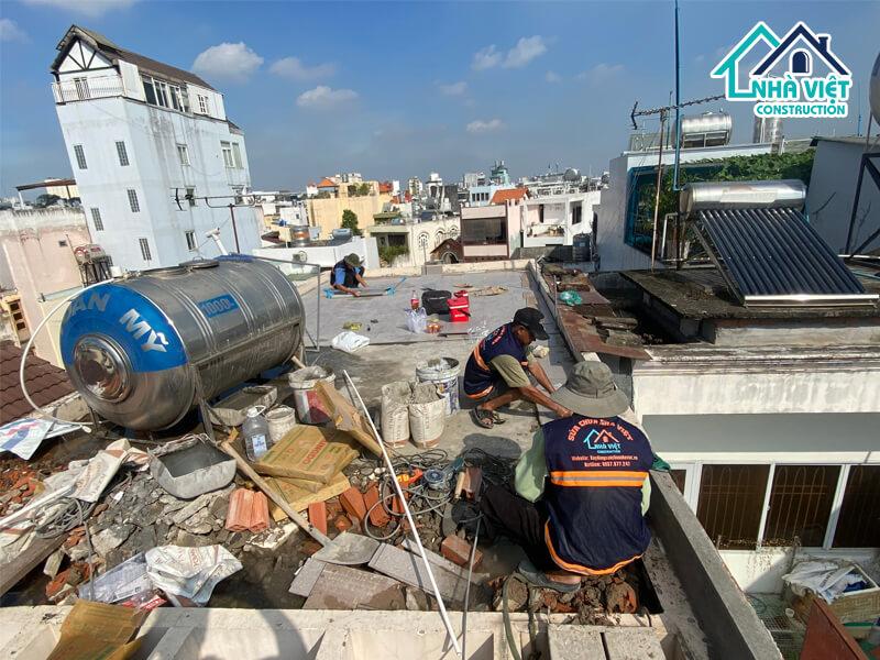 lat gach chong tham san thuong 8 1 - Lát gạch chống thấm sân thượng bảo hành 10 năm tại TPHCM
