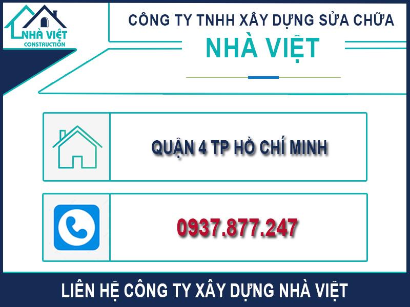 lien he cong ty xay dung nha viet 1 - Chống Thấm Tường Nhà TP Hồ Chí Minh Triệt Để 100% - Tiết Kiệm Chi Phí