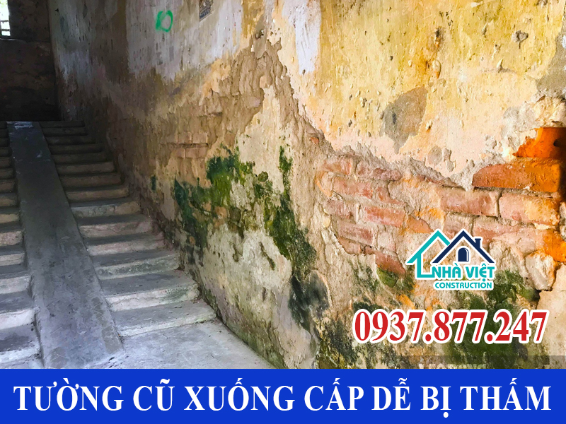 nguyen nhan tuong nha bi tham - Chống Thấm Tường Nhà TP Hồ Chí Minh Triệt Để 100% - Tiết Kiệm Chi Phí