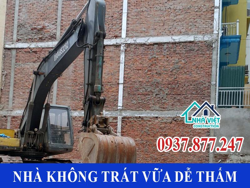 nha khong trat vua de bi tham - Chống Thấm Tường Nhà TP Hồ Chí Minh Triệt Để 100% - Tiết Kiệm Chi Phí