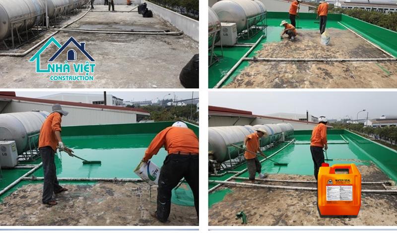 son chong tham san thuong water seal - 5 Vật liệu chống thấm sân thượng tốt nhất đảm bảo chất lượng hiện nay