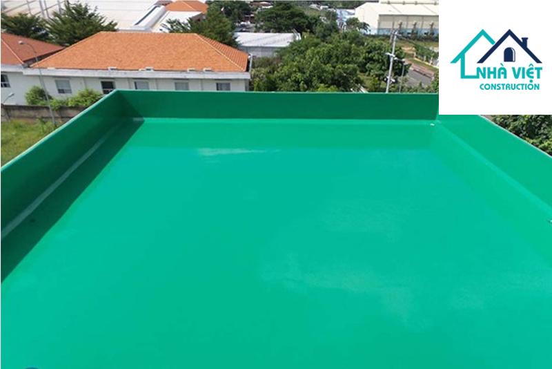 son epoxy chong tham san thuong chat luong - 5 Vật liệu chống thấm sân thượng tốt nhất đảm bảo chất lượng hiện nay