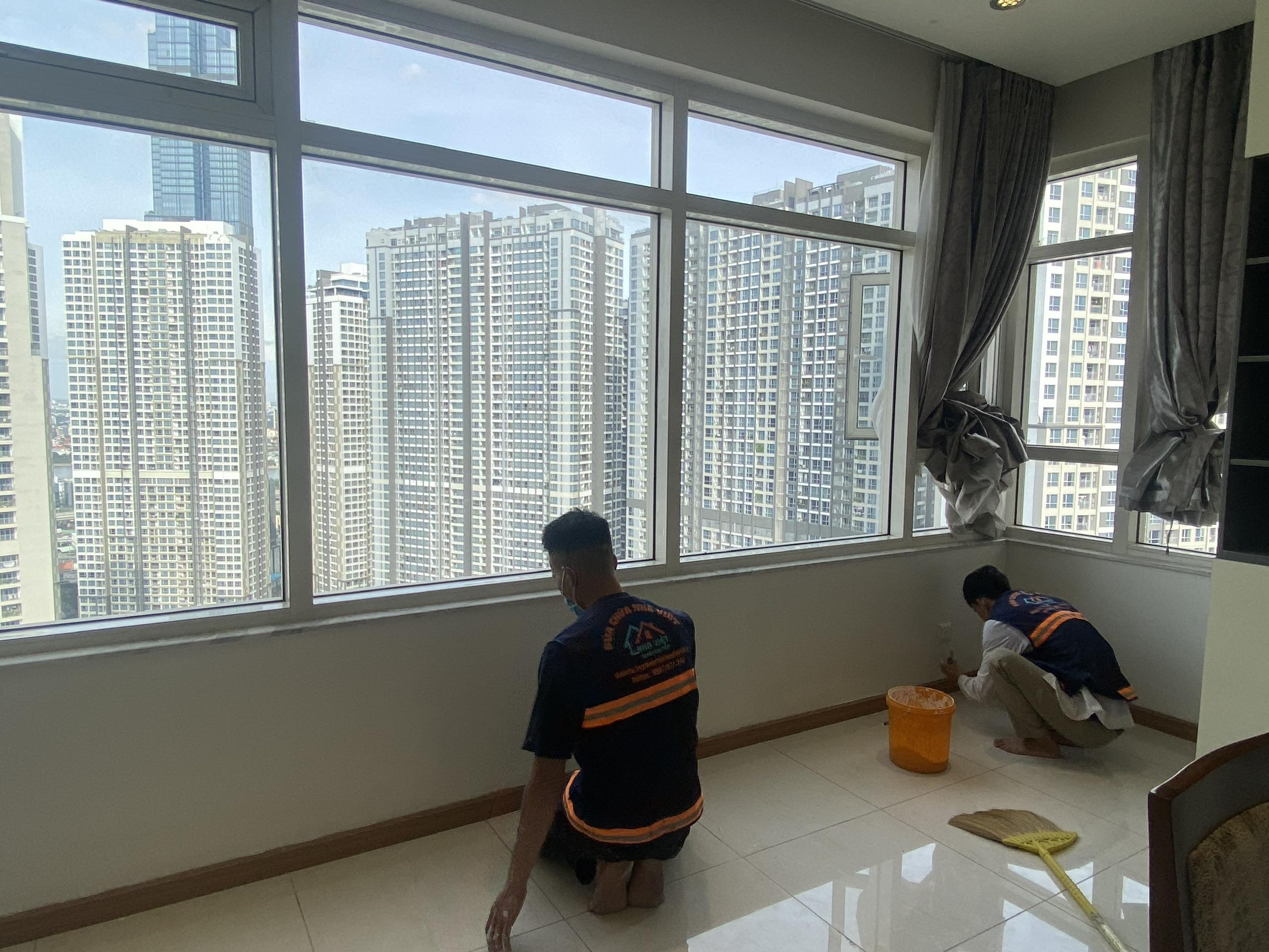 thi cong son nuoc gia re 5 - Thi công sơn nước giá rẻ, chất lượng, tại Tp Hồ Chí Minh