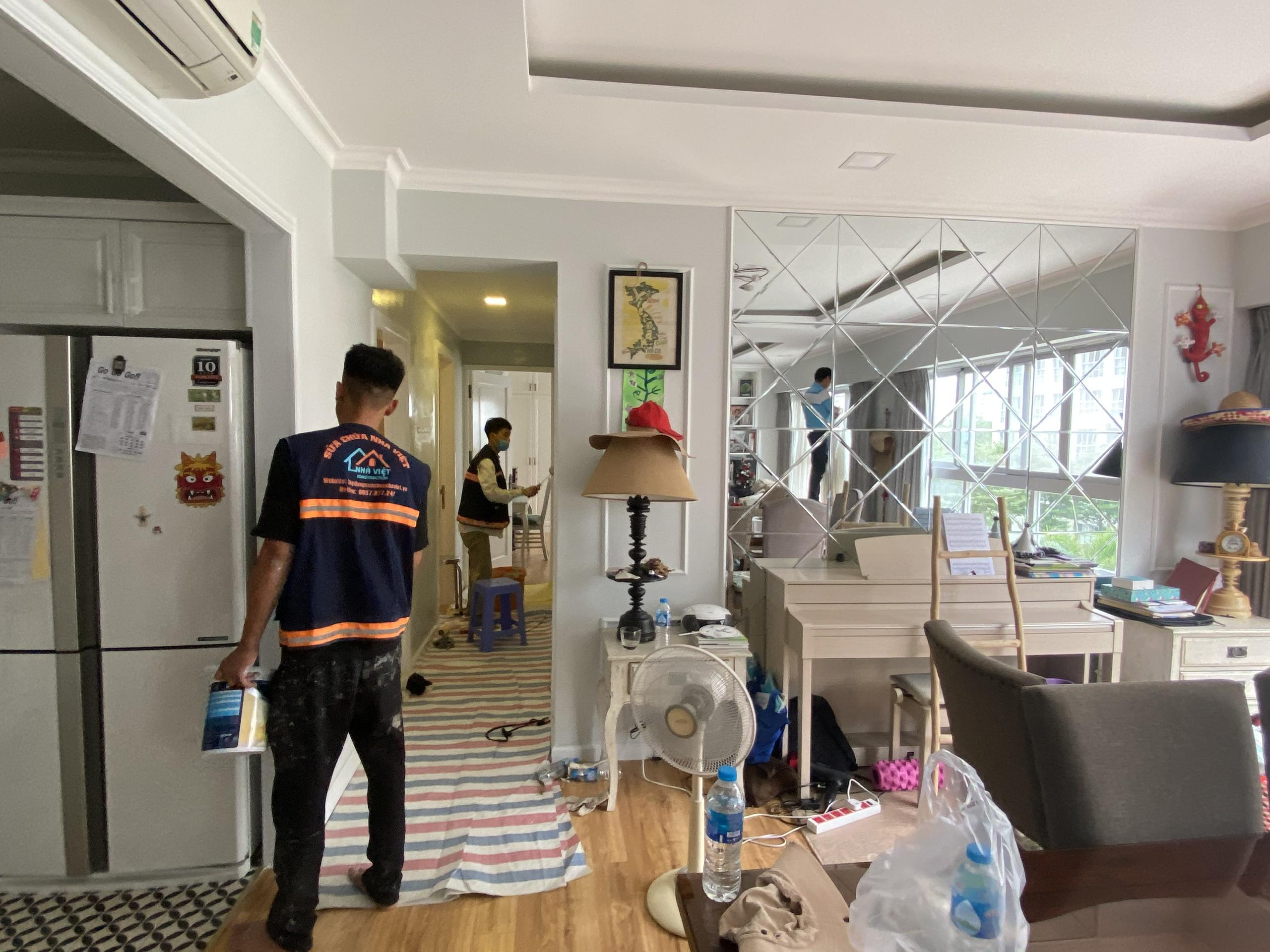 thi cong son nuoc tphcm 3 - Thi công sơn nước TP Hồ Chí Minh trọn gói tốt nhất 2021