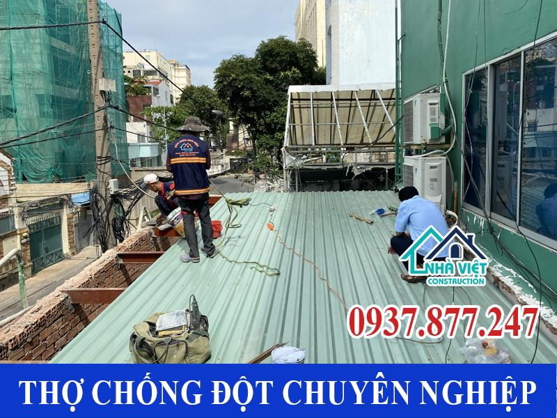 tho chong dot tphcm uy tin - Thợ Chống dột mái tôn TP Hồ Chí Minh triệt để 100%