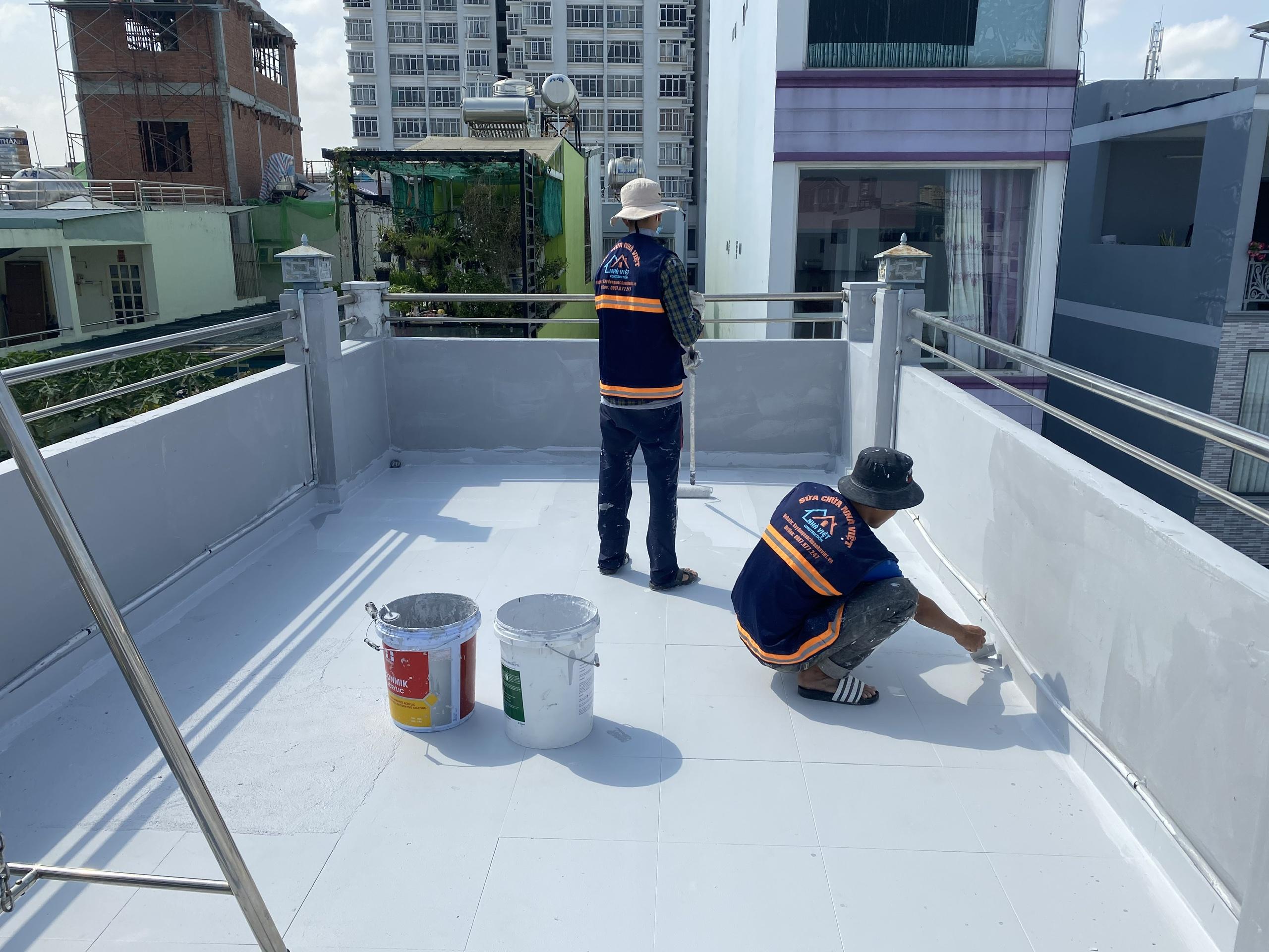 vat lieu chong tham san thuong 10 - 5 Vật liệu chống thấm sân thượng tốt nhất đảm bảo chất lượng hiện nay