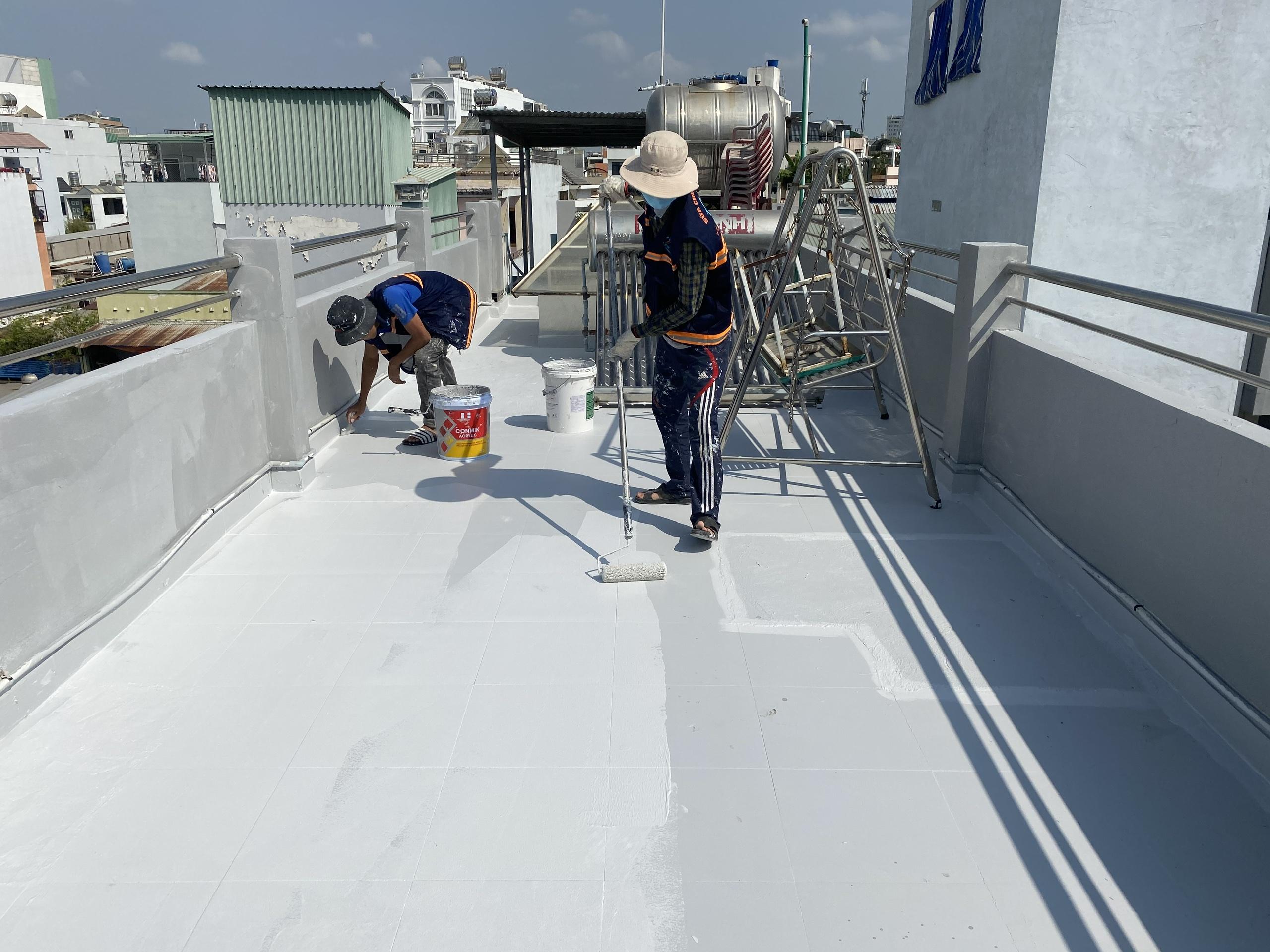 vat lieu chong tham san thuong 12 - 5 Vật liệu chống thấm sân thượng tốt nhất đảm bảo chất lượng hiện nay