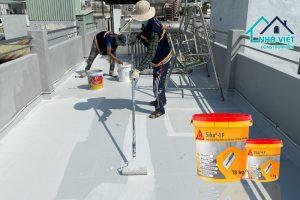 5 Vật liệu chống thấm sân thượng tốt nhất đảm bảo chất lượng hiện nay