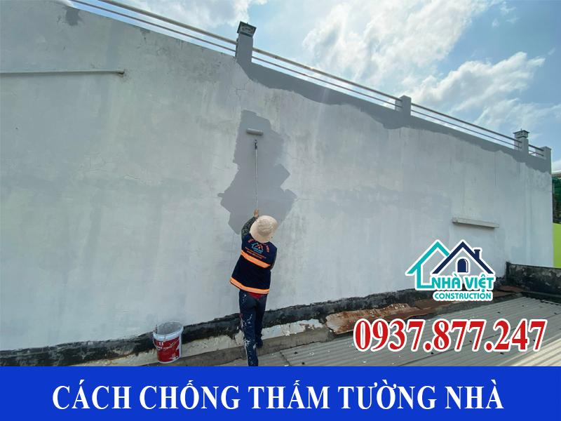 cach chong tham tuong nha 4 - Cách chống thấm tường nhà triệt để 100% - tiết kiệm chi phí