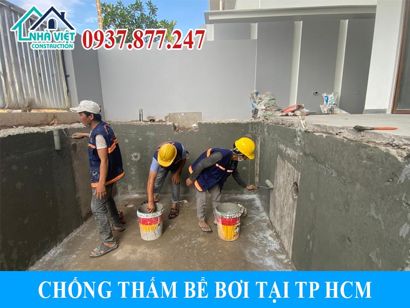 chong tham be boi tai tphcm 1 - Chống thấm bể bơi tại TPHCM triệt để 100% giá rẻ bằng sika