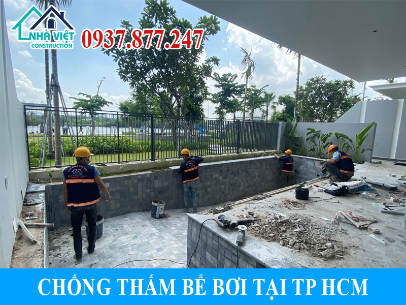 chong tham be boi tai tphcm 2 - Chống thấm bể bơi tại TPHCM triệt để 100% giá rẻ bằng sika