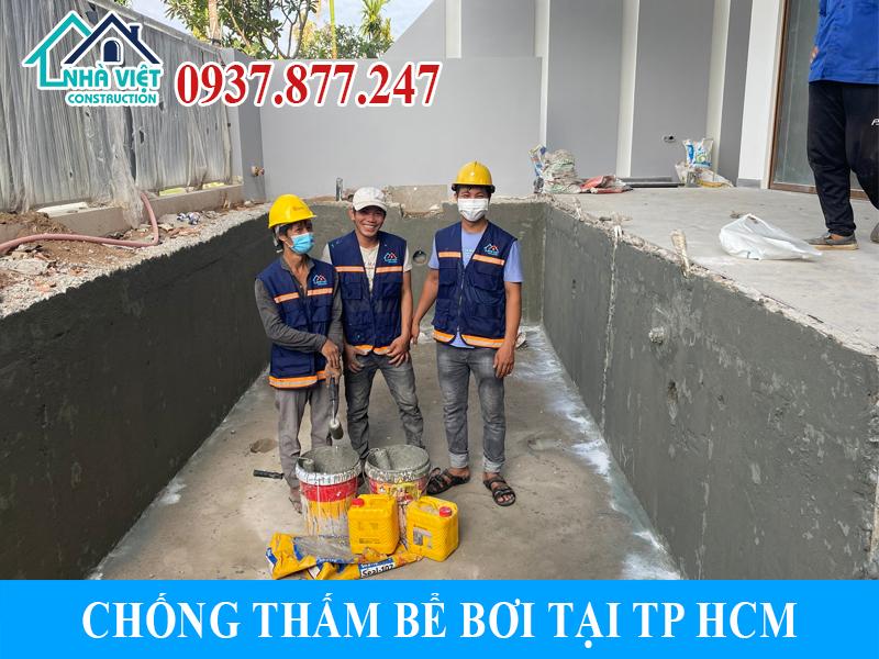 chong tham be boi tai tphcm 3 - Chống thấm bể bơi tại TPHCM triệt để 100% giá rẻ bằng sika