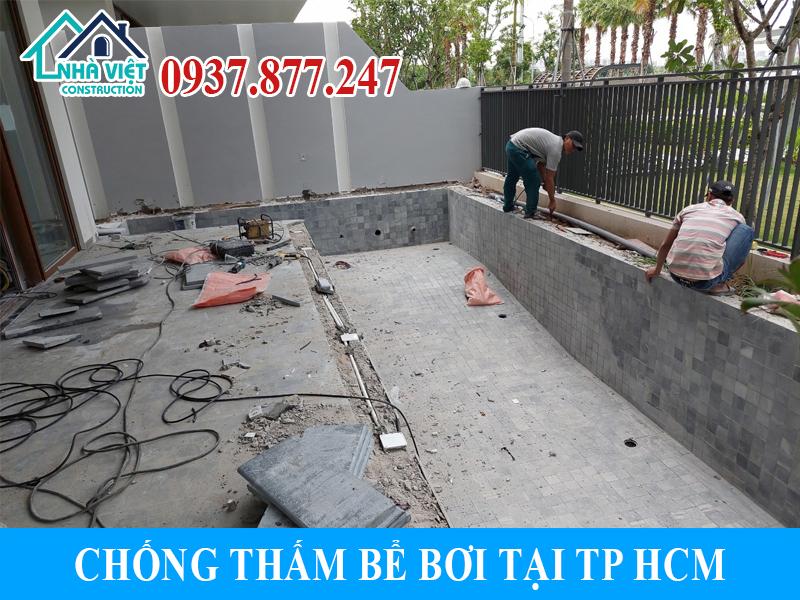 chong tham be boi tai tphcm 4 - Chống thấm bể bơi tại TPHCM triệt để 100% giá rẻ bằng sika
