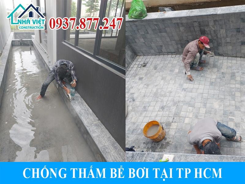 chong tham be boi tai tphcm 5 - Chống thấm bể bơi tại TPHCM triệt để 100% giá rẻ bằng sika