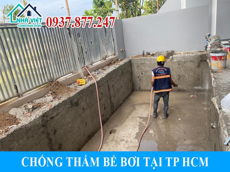chong tham be boi tai tphcm 6 - Chống thấm bể bơi tại TPHCM triệt để 100% giá rẻ bằng sika