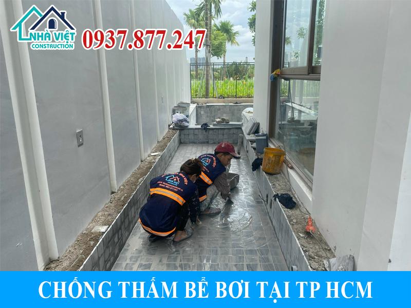 chong tham be boi tai tphcm 7 - Chống thấm bể bơi tại TPHCM triệt để 100% giá rẻ bằng sika