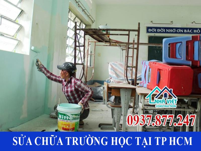 sua chua truong hoc tai tp hcm - Sửa chữa trường học tại TP HCM uy tín chất lượng