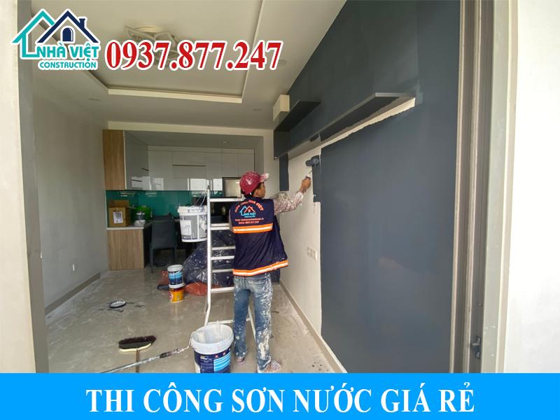 thi cong son nuoc gia re 3 - Thi công sơn nước giá rẻ, chất lượng, tại Tp Hồ Chí Minh