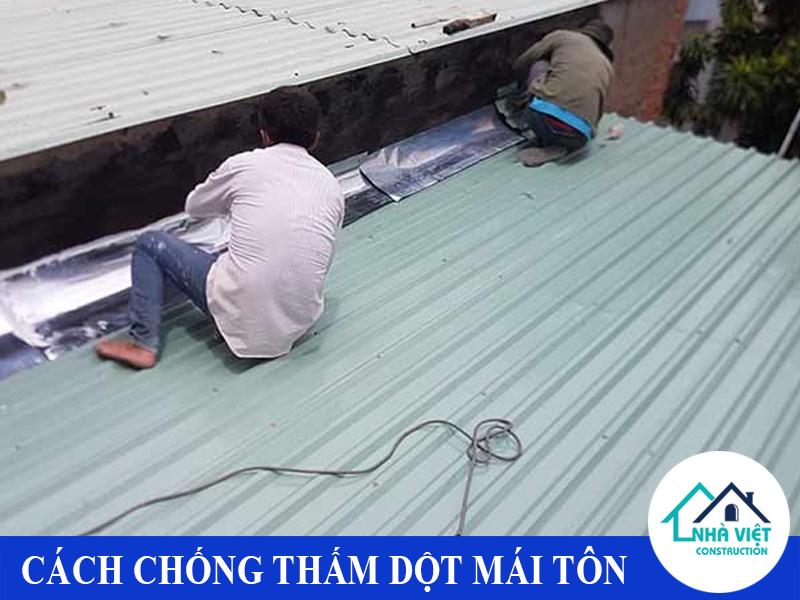 cach chong tham dot mai ton 1 2 - 10 Cách chống thấm dột mái tôn đơn giản hiệu quả