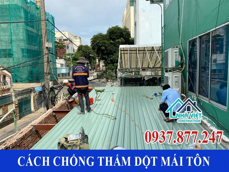cach chong tham dot mai ton 11 - 10 Cách chống thấm dột mái tôn đơn giản hiệu quả