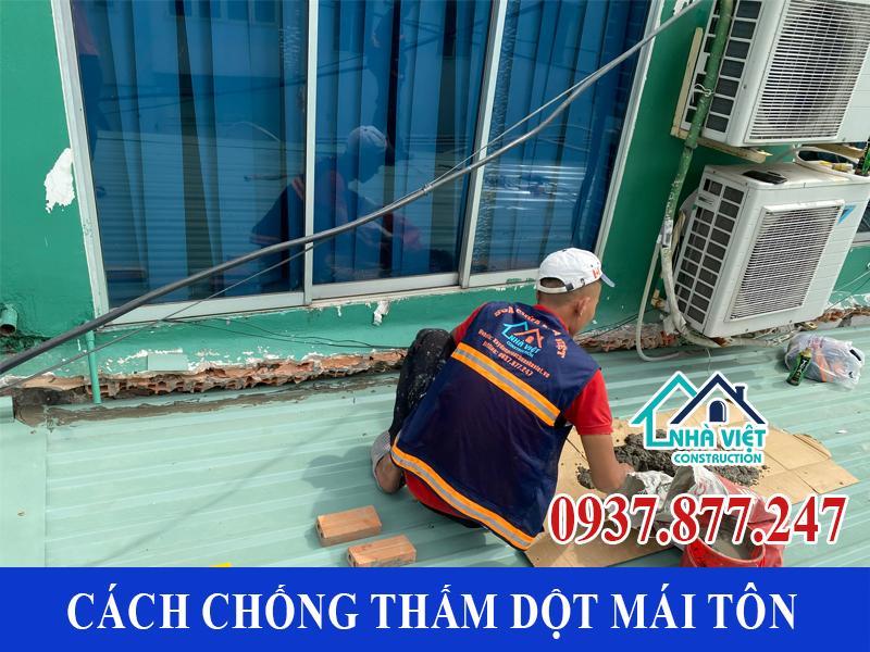 cach chong tham dot mai ton 12 - 10 Cách chống thấm dột mái tôn đơn giản hiệu quả