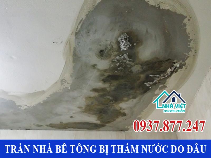 cach chong tham tran nha be tong 1 1 - Cách chống thấm trần nhà bê tông đảm bảo triệt để 100%