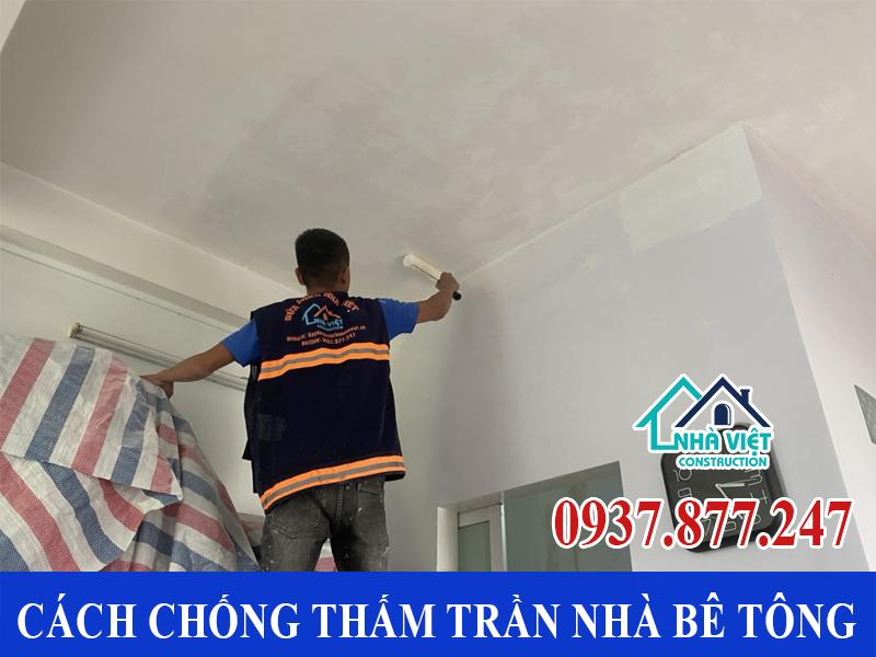 cach chong tham tran nha be tong 4 - Cách chống thấm trần nhà bê tông đảm bảo triệt để 100%